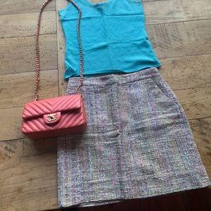 J.Crew Beautiful Tweed Mini Skirt